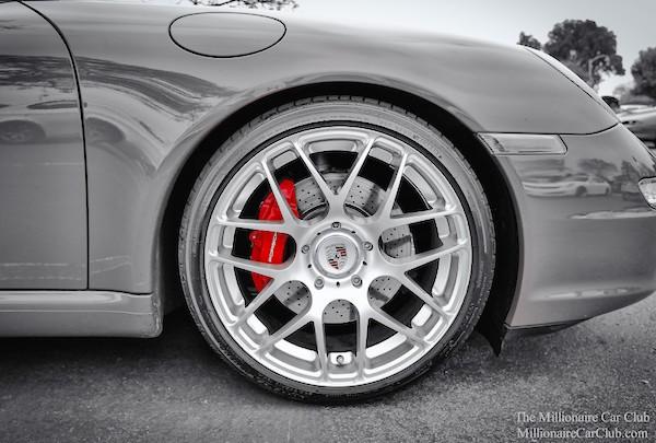 Car brakes. Picture courtesy millionairecarclub.com