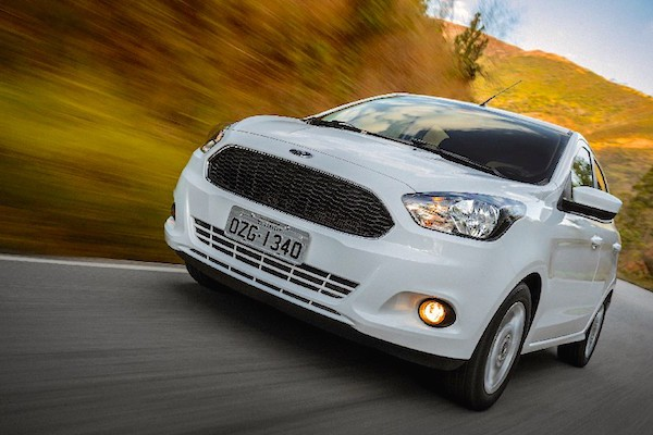 Ford Ka Brazil May 2015. Picture courtesy uol.com.br