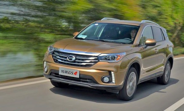 GAC Trumpchi GS4 China July 2015