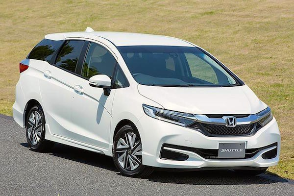 Honda Shuttle Japan May 2015. Picture courtesy carview.co.jp
