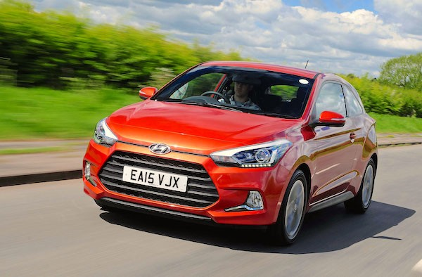 Hyundai i20 UK March 2015. Picture courtesy autoexpress.co.uk