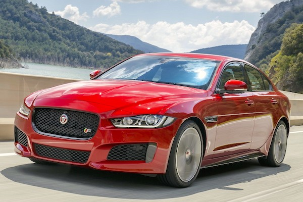 Jaguar XE UK May 2015