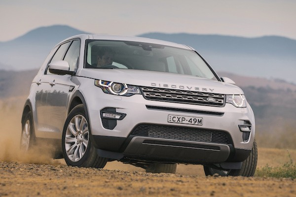 Land Rover Discovery Sport South Africa May 2015