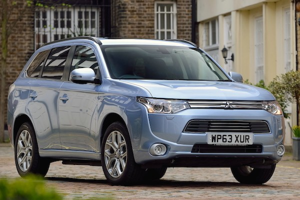 Mitsubishi Outlander Norway May 2015