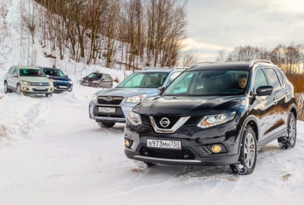 Nissan X-Trail Russia May 2015. Picture courtesy zr.ru