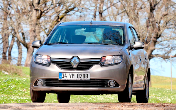 Renault Symbol Turkey May 2015