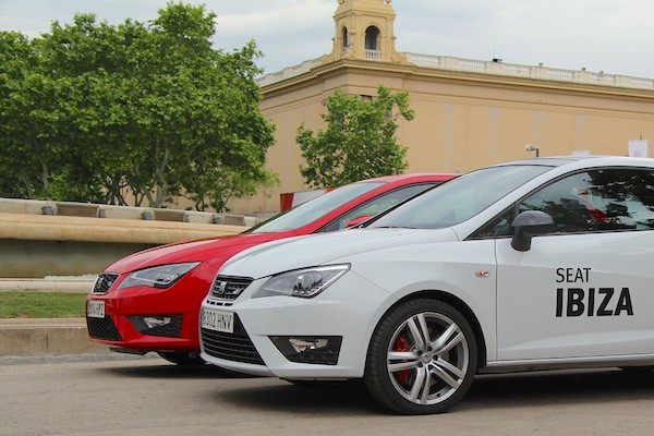 Seat Ibiza Leon Spain May 2015. Picture courtesy diariomotor.com