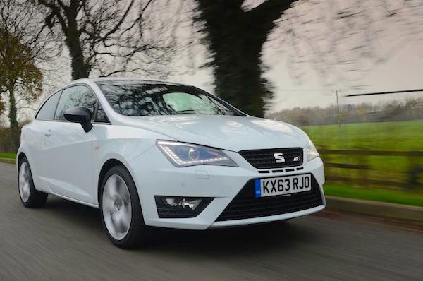 Seat Ibiza UK May 2015. Picture courtesy autoexpress.co.uk
