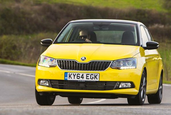 Skoda Fabia France September 2015. Picture courtesy honestjohn.co.uk