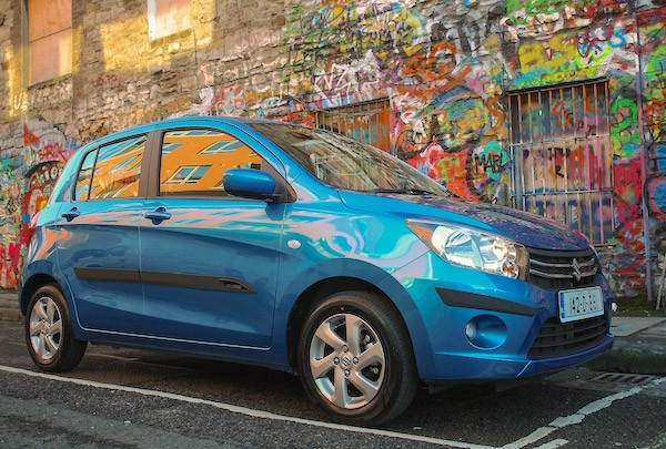 Suzuki Celerio Uruguay May 2015. Picture courtesy autoexpress.co.uk