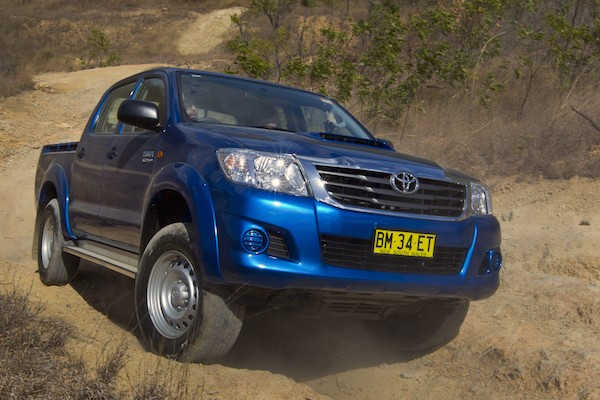 Toyota Hilux Australia May 2015. Picture courtesy caradvice.com.au