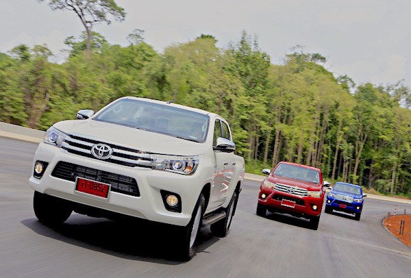 Toyota Hilux Revo Thailand May 2015. Picture courtesy autodeft.com