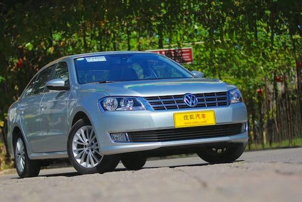 VW Lavida China May 2015. Picture courtesy auto.sohu.com