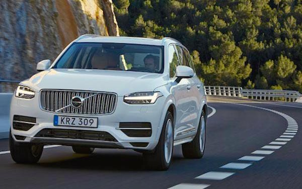 Volvo XC90 Norway May 2015