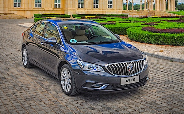 Buick Verano China June 2015. Picture courtesy xcar.com.cn