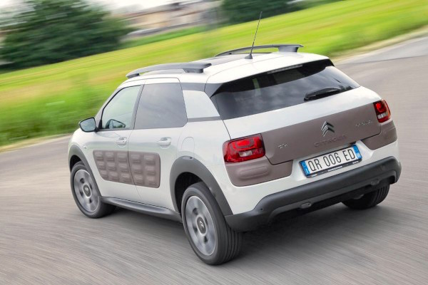Citroen C4 Cactus Italy June 2015. Picture courtesy quattroruote.it