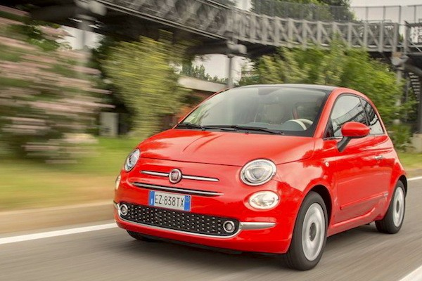 Fiat 500 Lithuania September 2015. Picture courtesy largus.fr