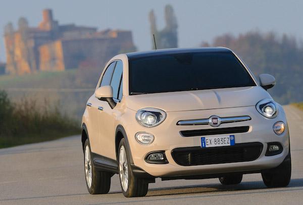 Fiat 500X Italy June 2015