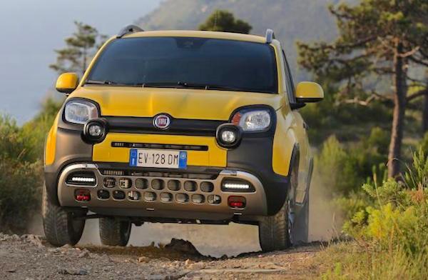 Fiat Panda Italy September 2015