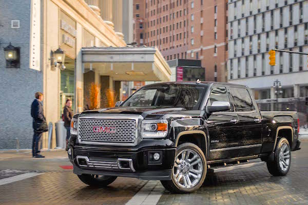 GMC Sierra Canada June 2015. Picture courtesy motortrend.com