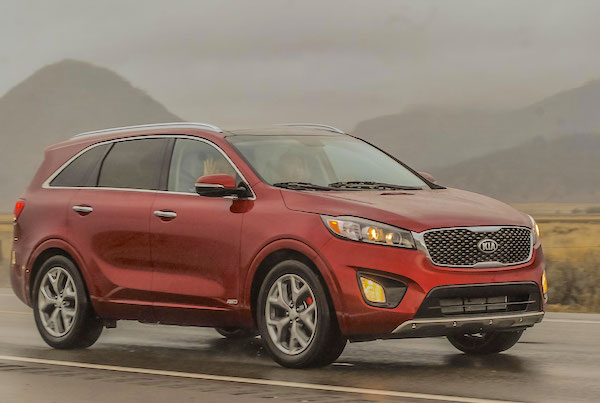 Kia Sorento Iraq March 2015. Picture courtesy motortrend.com