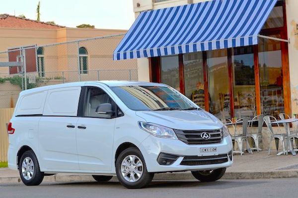 LDV G10 Ausrtralia June 2015. Picture courtesy goauto.com.au