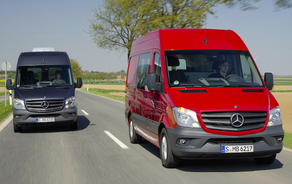 Mercedes Sprinter Belgium May 2015