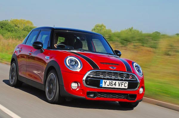 Mini UK June 2015. Picture courtesy autoexpress.co.uk