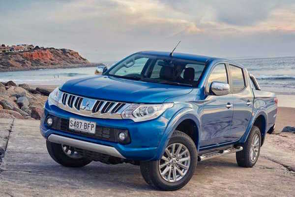 Mitsubishi Triton Australia June 2015. Picture courtesy carshowroom.com.au