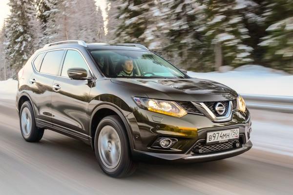 Nissan X-Trail Russia June 2015. Picture courtesy zr.ru