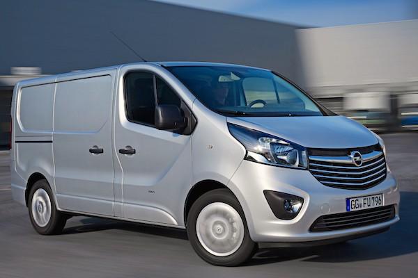 Opel Vivaro France June 2015