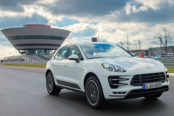 Porsche Macan Hong Kong August 2015. Picture courtesy autoexpress.co.uk