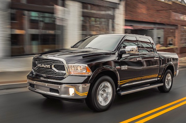 Ram Pickup Canada June 2015. Picture courtesy caranddriver.com