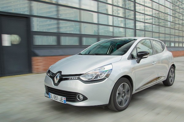 Renault Clio UK July 2015. Picture courtesy largus.fr