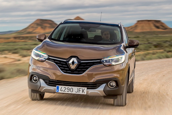 Renault Kadjar France June 2015. Picture courtesy largus.fr
