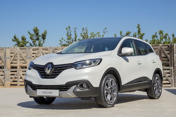 Renault Kadjar Europe June 2015. Picture courtesy largus.fr