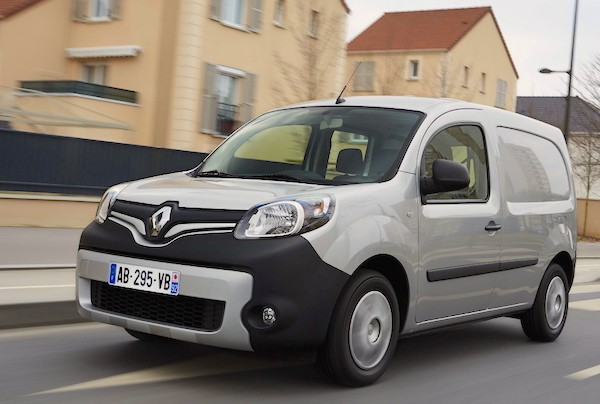 Renault Kangoo France June 2015