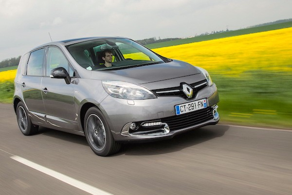 Renault Scenic Belgium June 2015. Picture courtesy largus.fr