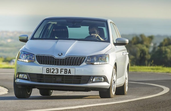 Skoda Fabia Germany August 2015