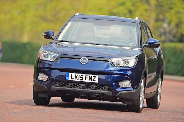 Ssangyong Tivoli South Korea June 2015. Picture courtesy autoexpress.co.uk
