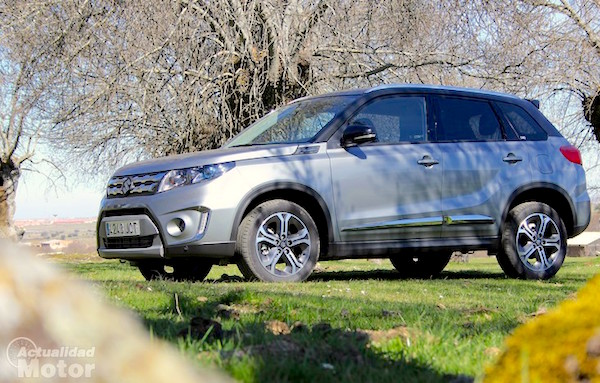 Suzuki Vitara Hungary June 2015. Picture courtesy actualidadmotor.com