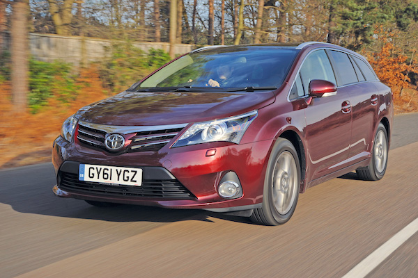 Toyota Avensis Ireland June 2015. Picture courtesy autoexpress.co.uk
