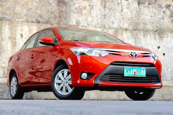 Toyota Vios Philippines June 2015. Picture courtesy carsguide.ph