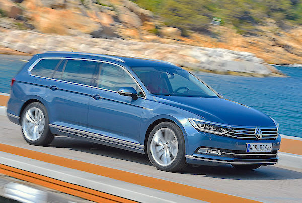 VW Passat Germany June 2015. Picture courtesy autobild.de