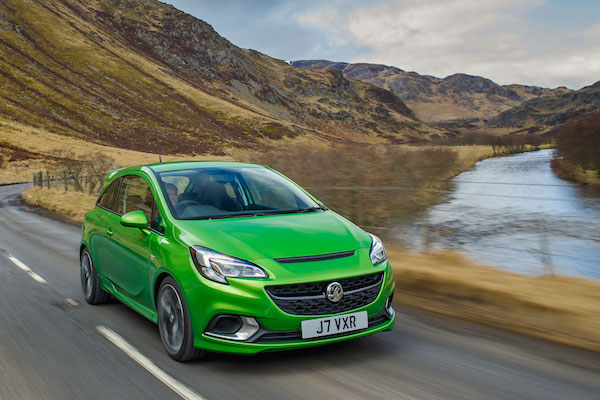 Vauxhall Corsa UK June 2015. Picture courtesy autoexpress.co.uk