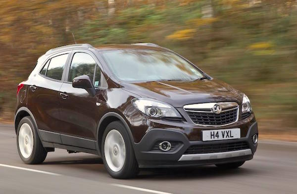 Vauxhall Mokka UK June 2015. Picture courtesy autocar.co.uk