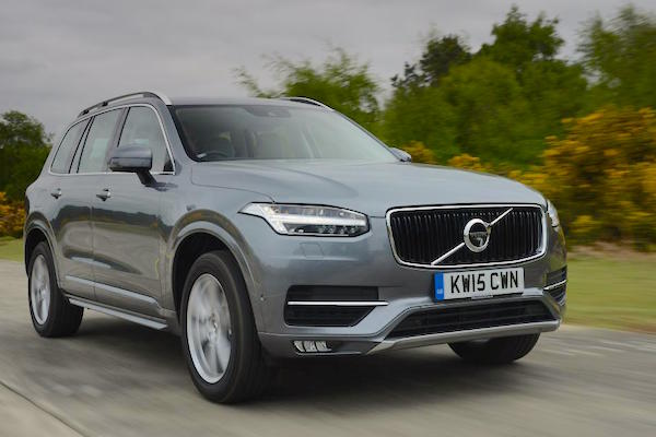 Volvo XC90 Norway June 2015. Picture courtesy autoexpress.co.uk