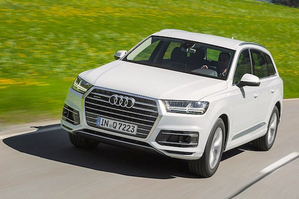 Audi Q7 Germany July 2015. Picture courtesy auto.cz