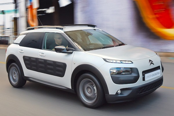 Citroen C4 Cactus Spain July 2015