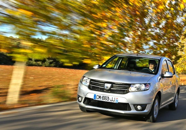 Dacia Logan Romania July 2015. Picture courtesy of largus.fr